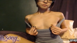 Petite Saya Song squirting