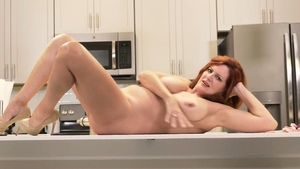 Mature Andi James teasing