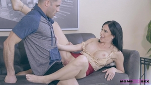 Huge boobs mature has a soft spot for hard ramming