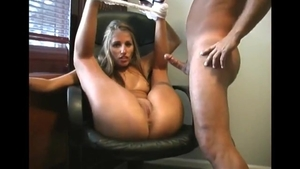 Slamming hard alongside busty housewife
