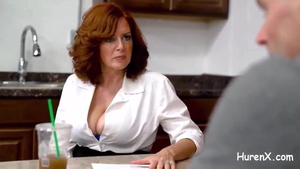 Huge tits german redhead has a taste for hardcore sex in HD