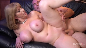 Ramming hard alongside erotic MILF Sara Jay