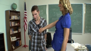 Preston Parker & large boobs teacher Brenda James