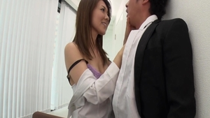 Mao Saitou pussy fucking in office