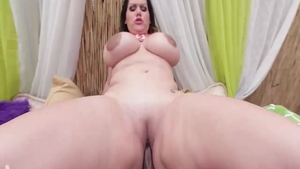 Hard sex together with huge babe Angelina Castro