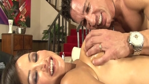 Cougar Lisa Ann rough creampie