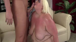 Busty blonde haired rough cowgirl sex