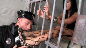 Madison Parker plowed hard in the jail