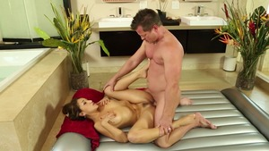Very hot Vicki Chase brunette bends over video