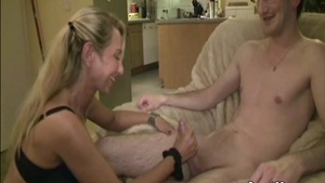 Raw hard nailining together with young deutsch mature