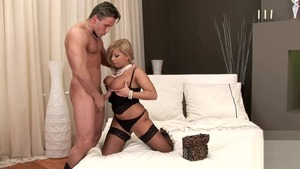Huge tits pornstar Lucy Love fucking in the ass