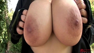 Busty Shione Cooper teasing video